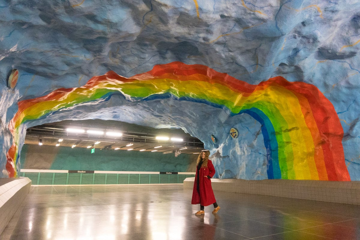 Stockholm Stadion Station