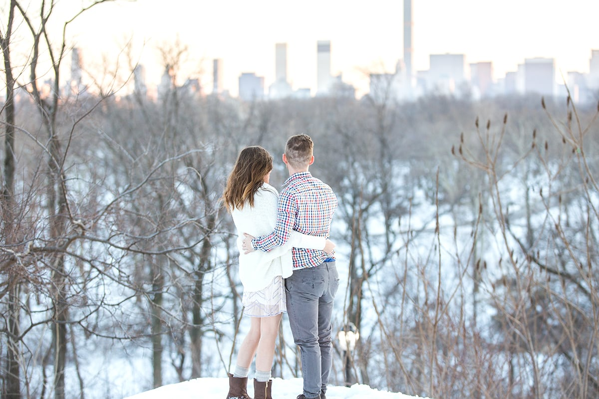Photo 17 Surprise Proposal in Central Park near West 100th street | VladLeto