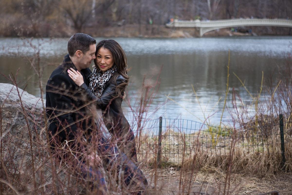 Photo 9 Secret Proposal near Bow bridge, Central Park | VladLeto
