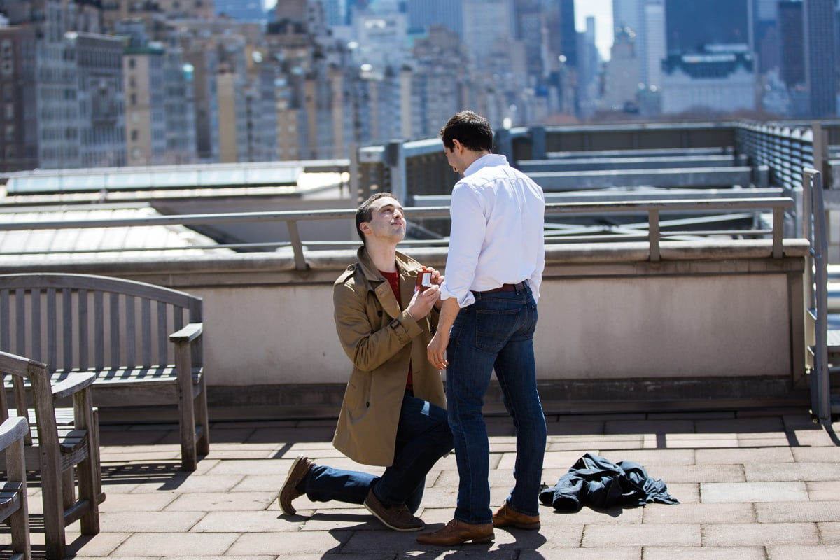 Photo Surprise marriage proposal at Metropolitan Museum of Art | VladLeto