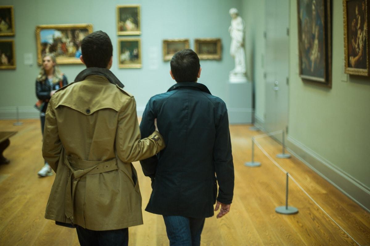 Photo 17 Surprise marriage proposal at Metropolitan Museum of Art | VladLeto