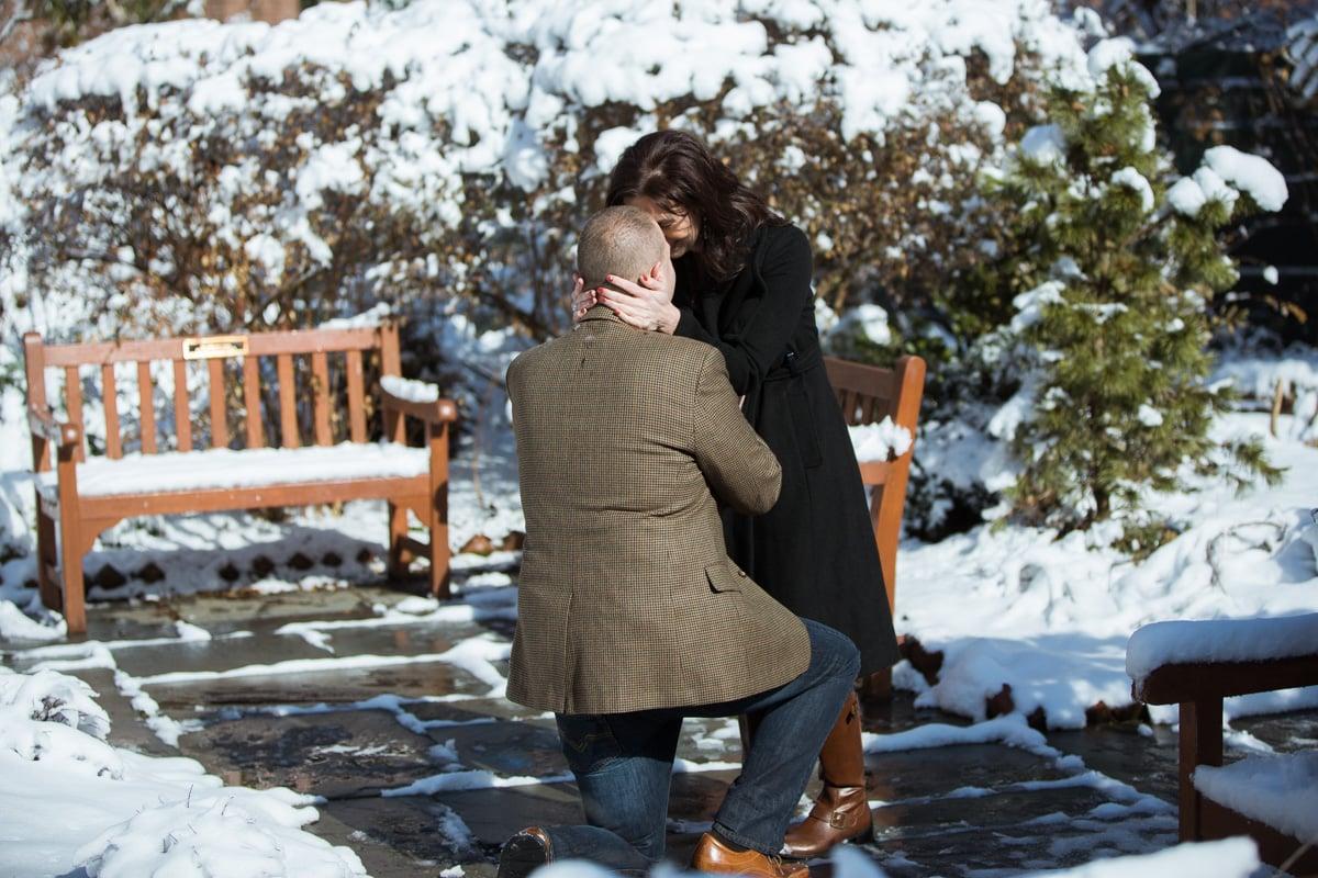 Photo 3 Secret proposal at The Church of Saint Luke in the Fields, West Village. | VladLeto
