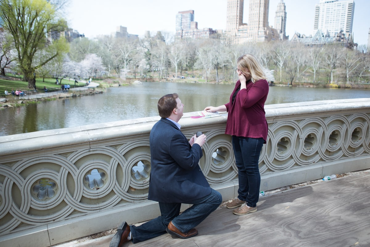 [Bow Bridge marriage proposal ]– photo[1]