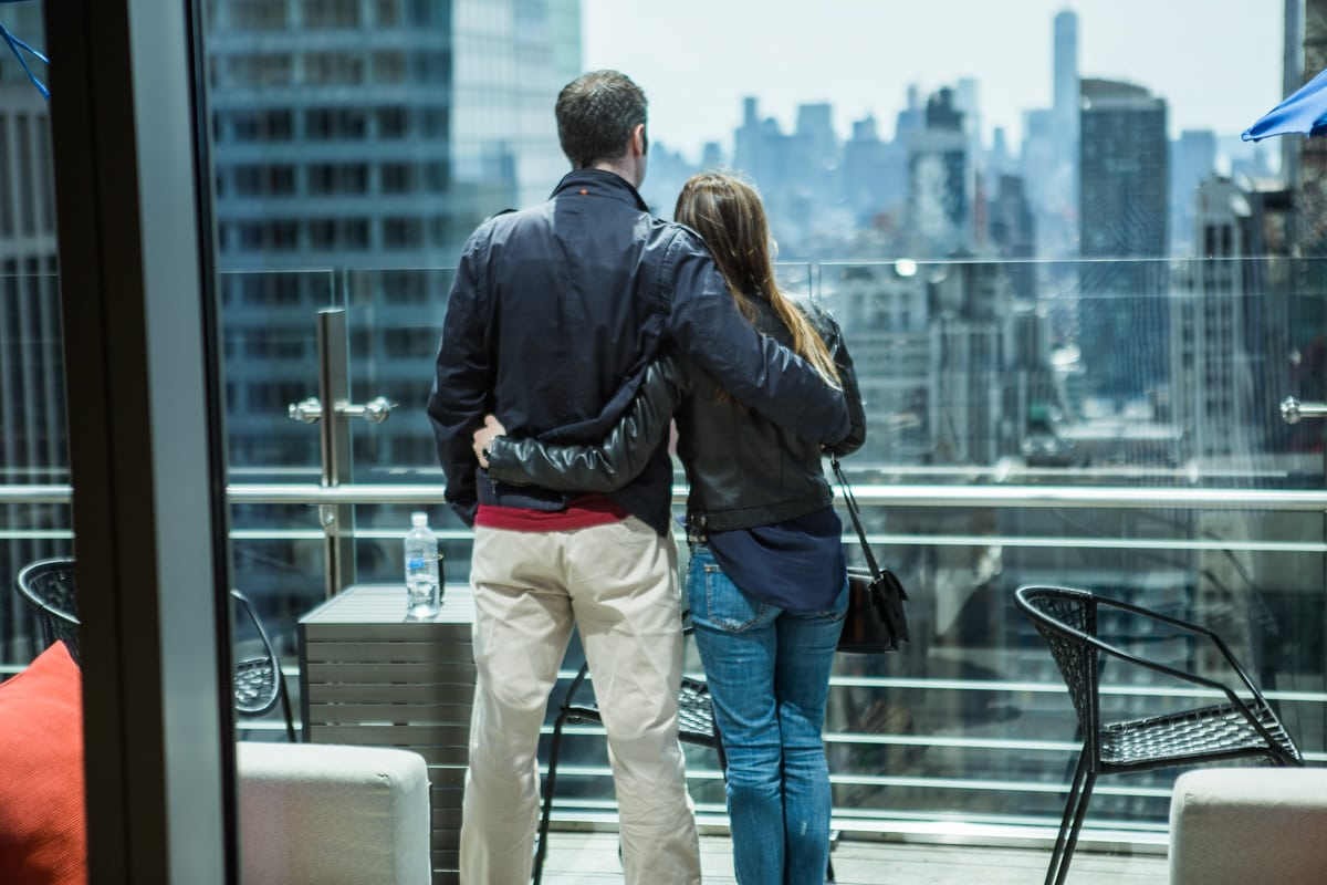 Photo 5 Marriage proposal at roof top of Hayt Times square.   VladLeto