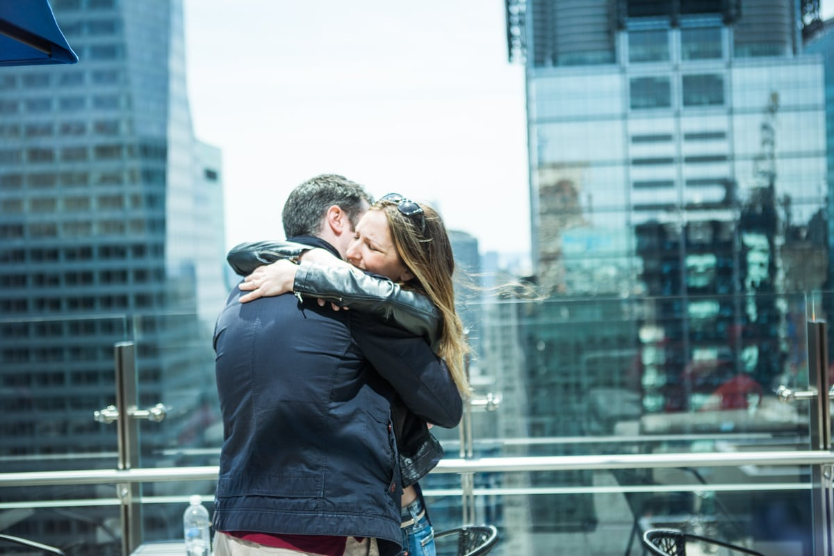 Photo 13 Marriage proposal at roof top of Hayt Times square.   VladLeto