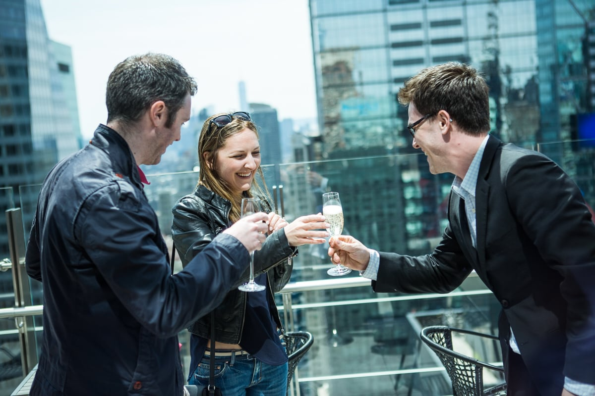 Photo 15 Marriage proposal at roof top of Hayt Times square. | VladLeto
