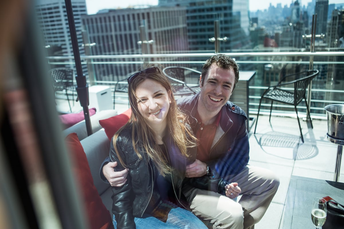 Photo 17 Marriage proposal at roof top of Hayt Times square.   VladLeto