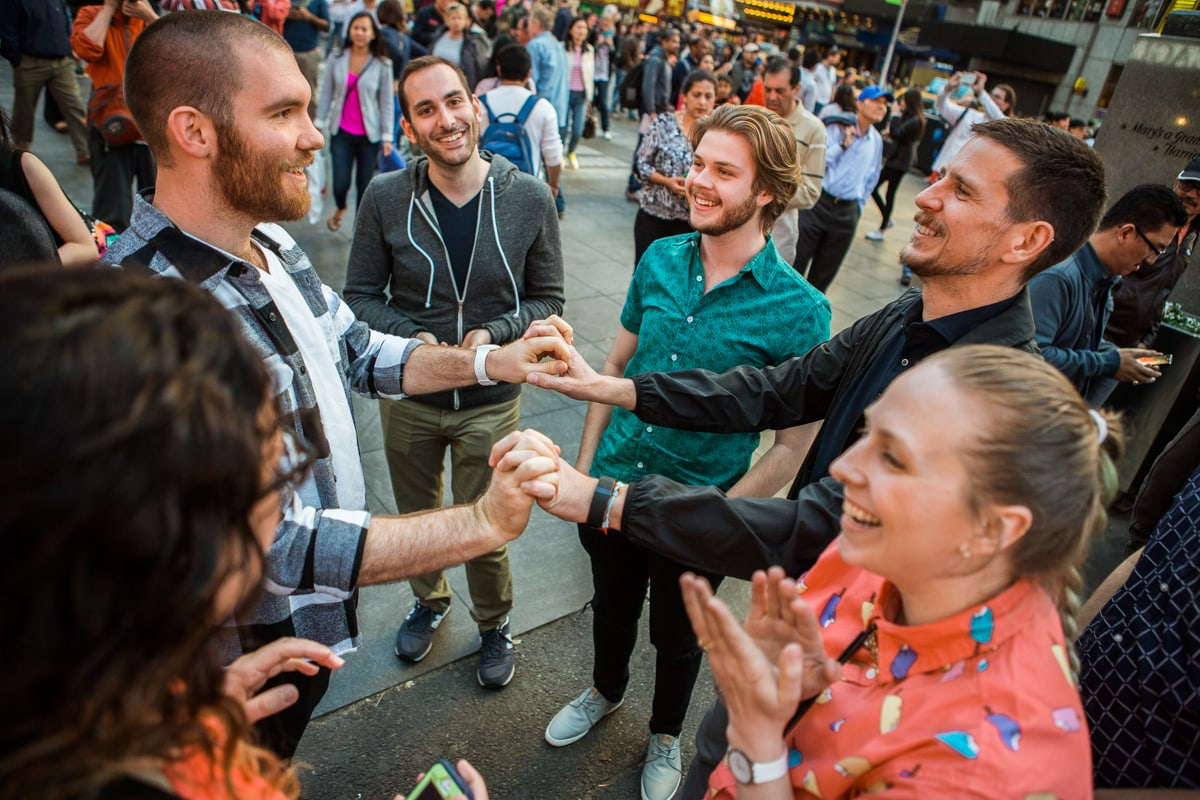 Photo 7 Times Square Marriage Proposal | VladLeto