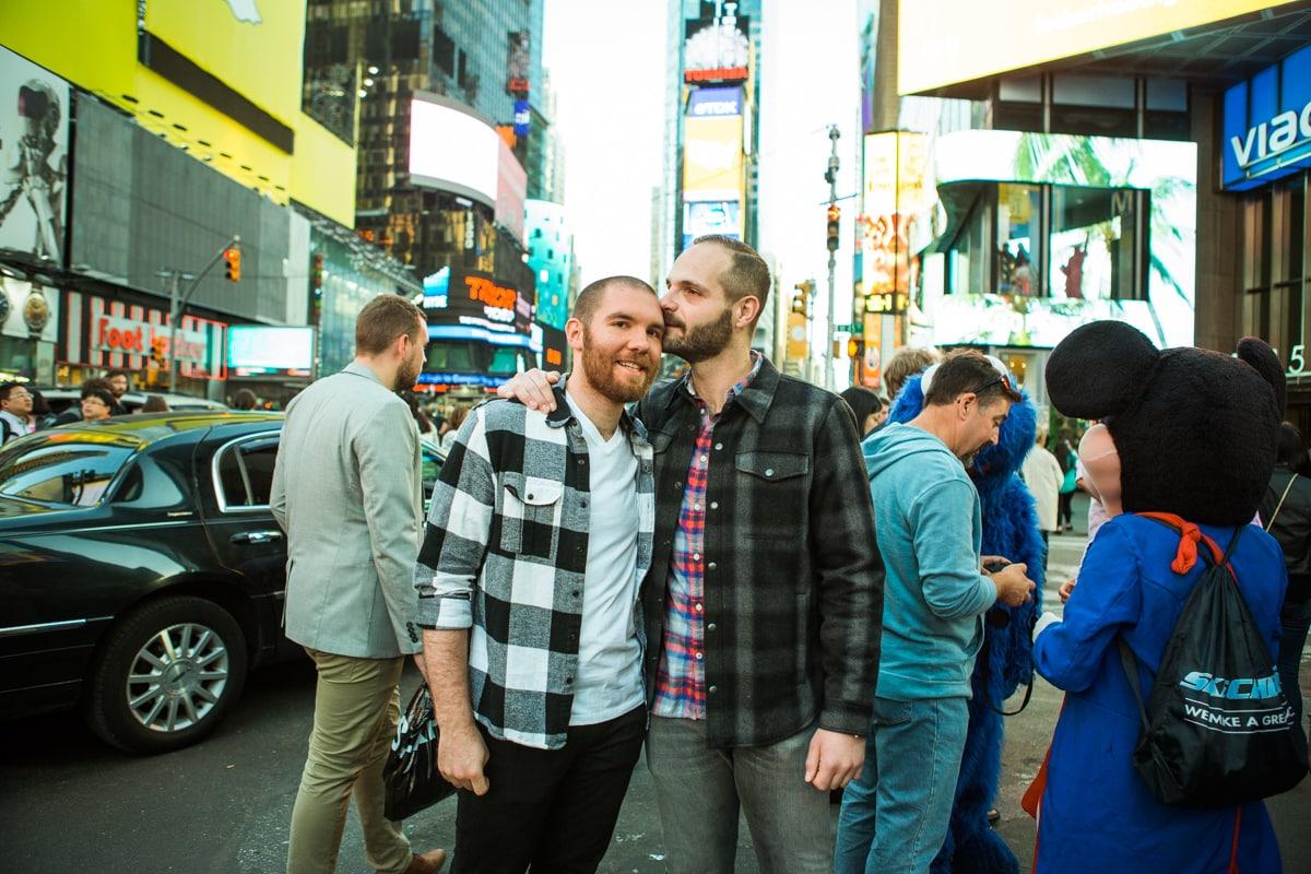 Photo 13 Times Square Marriage Proposal | VladLeto