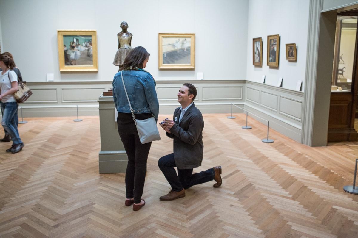 Photo Metropolitan Museum of Art marriage proposal | VladLeto