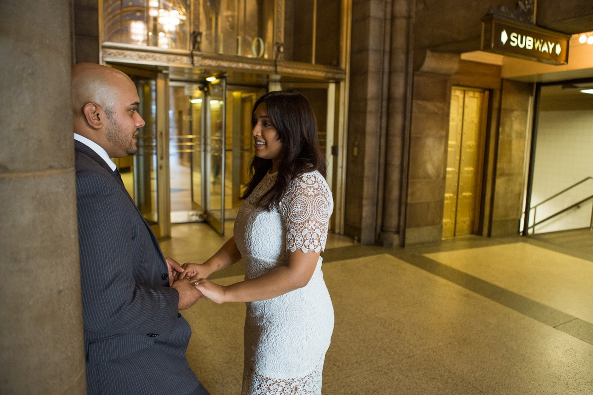 Photo 13 Wedding proposal at Cipriani Grand Central | VladLeto