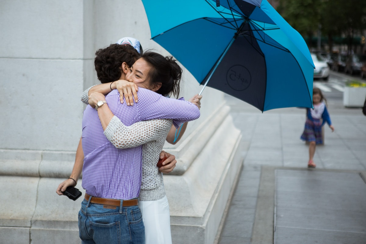 Photo 15 Proposal in Washington Square Park. | VladLeto