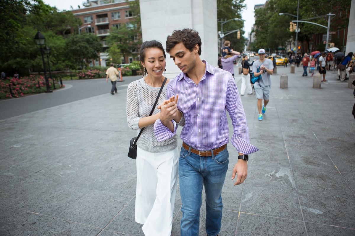 Photo 19 Proposal in Washington Square Park. | VladLeto