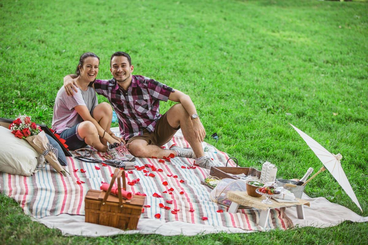 Photo 19 Picnic Proposal in Central Park | VladLeto