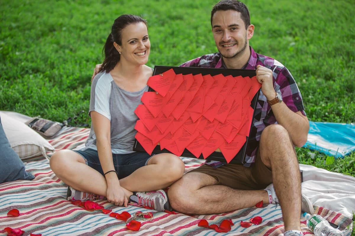 Photo 21 Picnic Proposal in Central Park | VladLeto