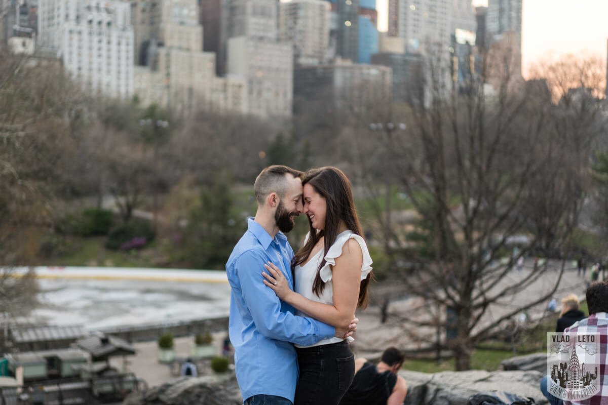 Photo 29 Central Park Marriage Proposal at The Lake Viewing Area | VladLeto