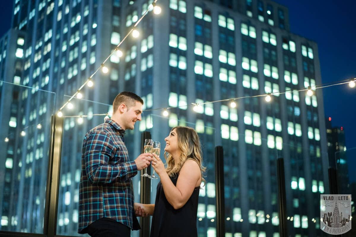 Photo 13 Empire state building view Surprise Marriage Proposal | VladLeto