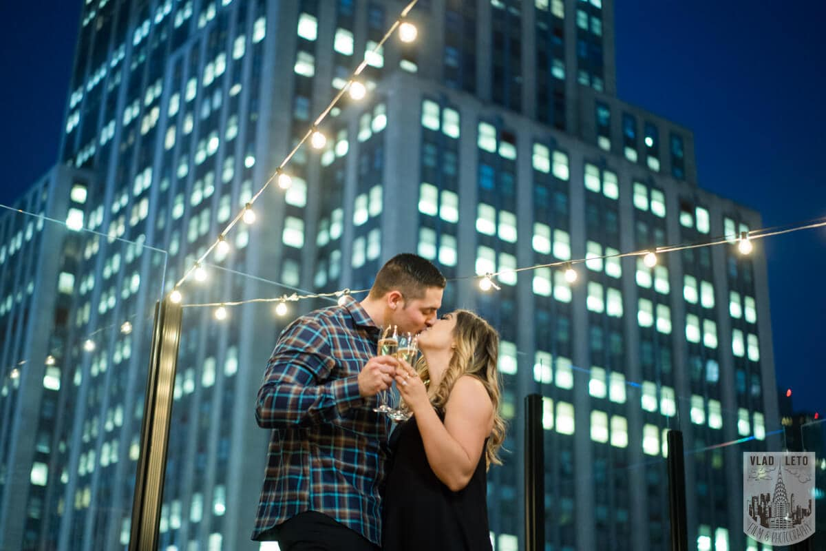 Photo 7 Empire state building view Surprise Marriage Proposal | VladLeto