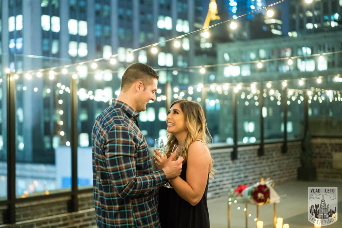 Photo 5 Empire state building view Surprise Marriage Proposal | VladLeto