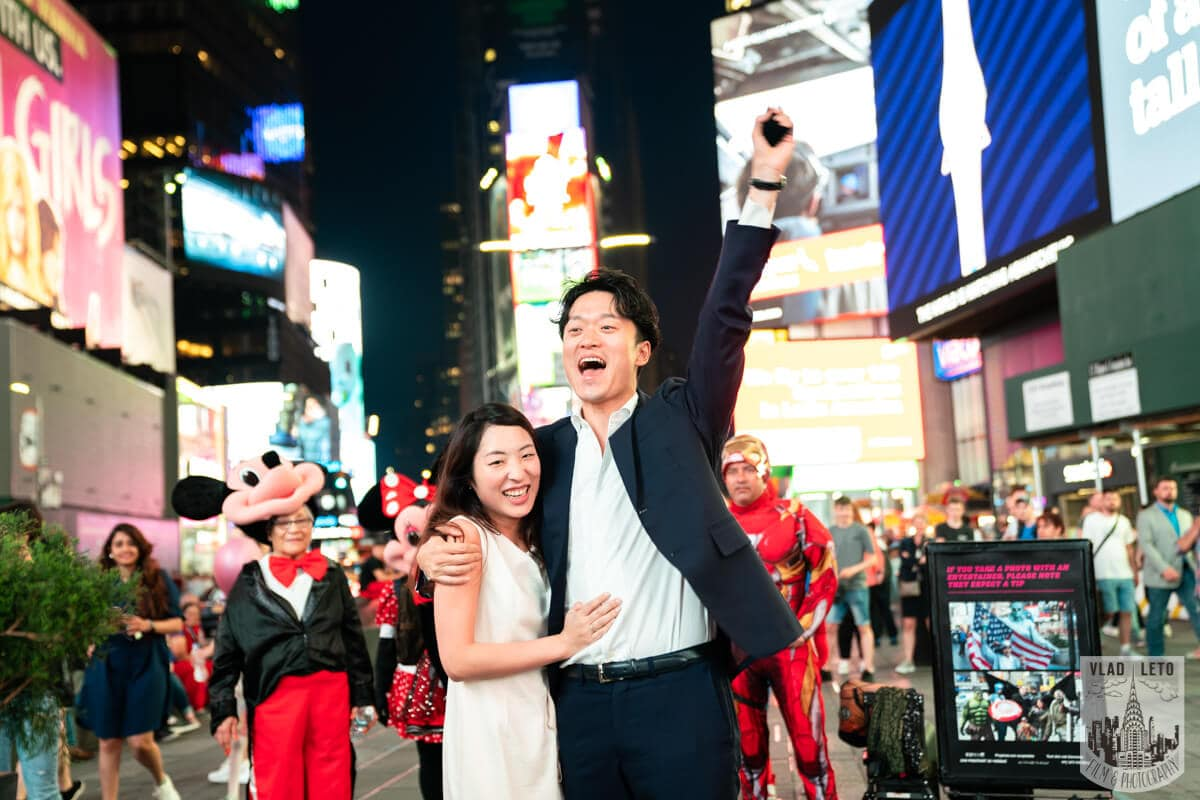 Photo 7 Times square proposal | VladLeto