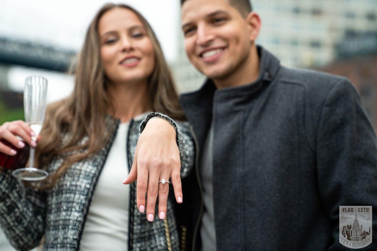 Photo 11 Surprise Marriage Proposal in Dumbo, Brooklyn | VladLeto