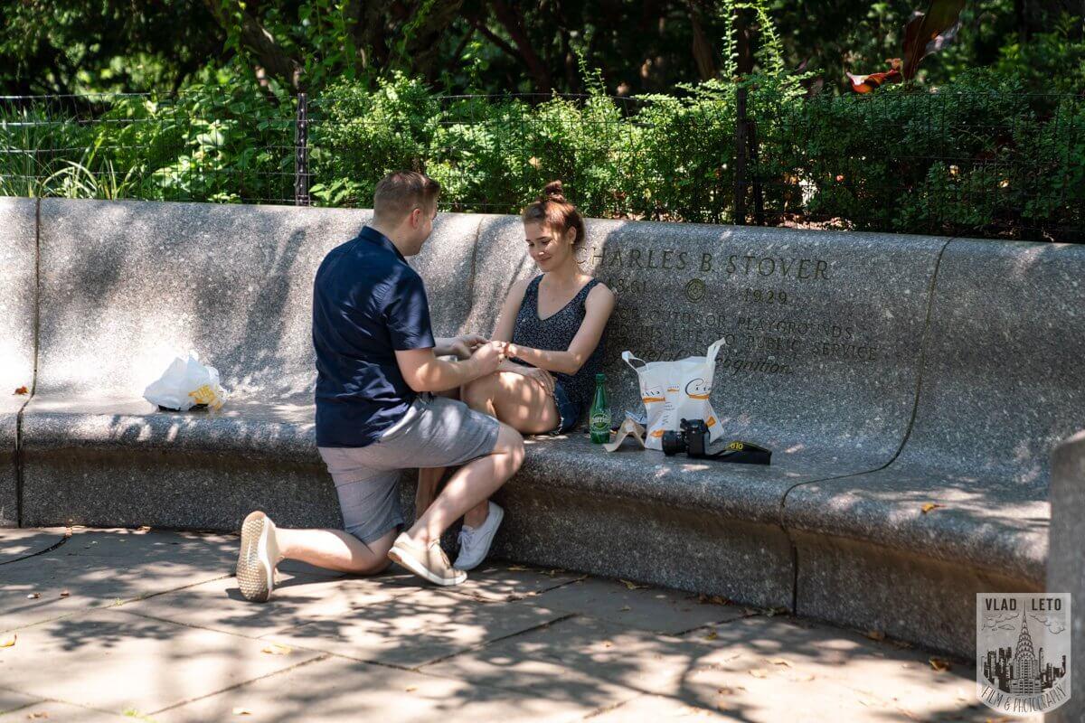 Photo 3 Shakespeare Garden Proposal in Central Park 2 | VladLeto