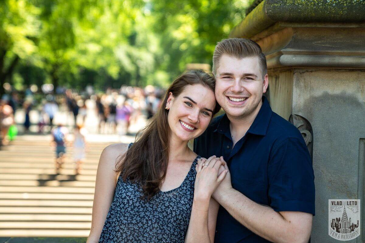 Photo 15 Shakespeare Garden Proposal in Central Park 2 | VladLeto