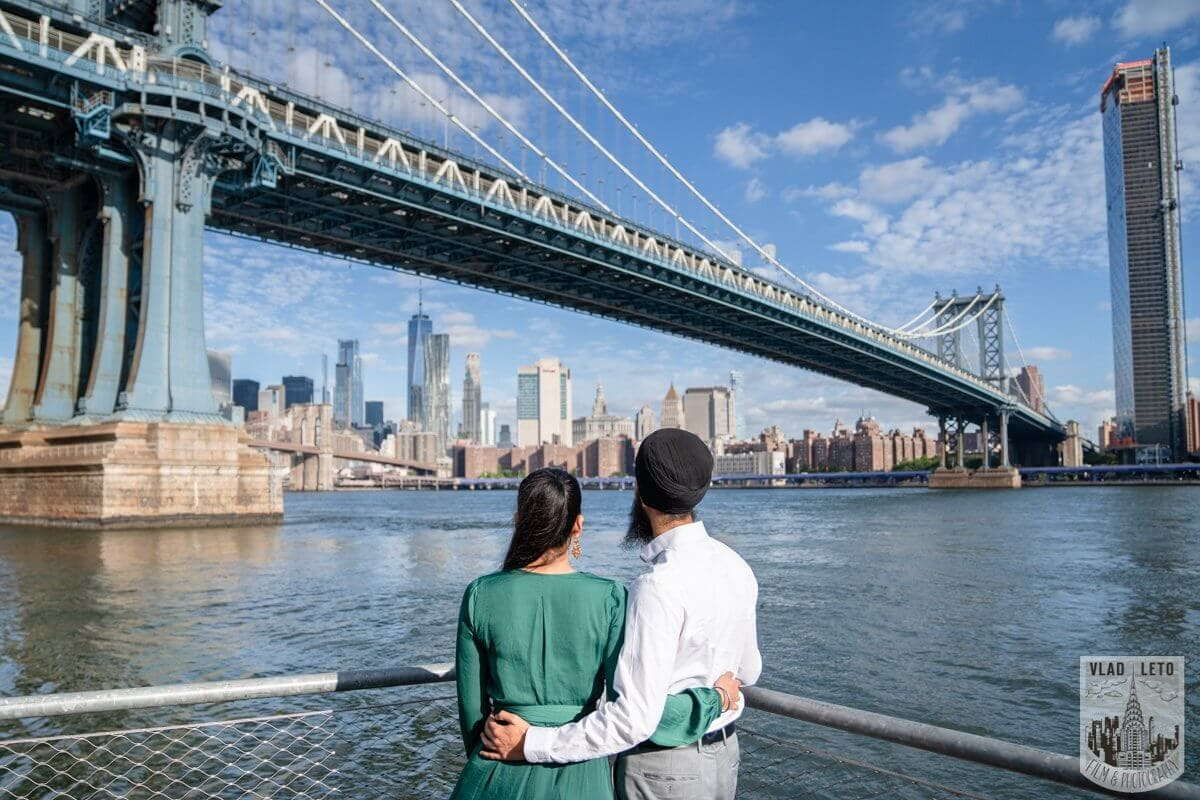 Photo 13 BEST Proposal Reaction! Brooklyn bridge park. | VladLeto