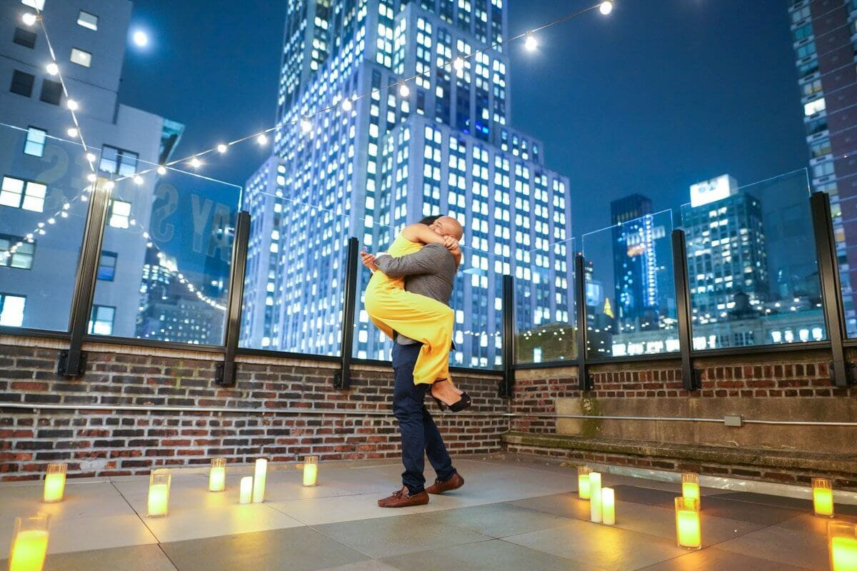 Photo 3 Rooftop proposal in NYC | VladLeto
