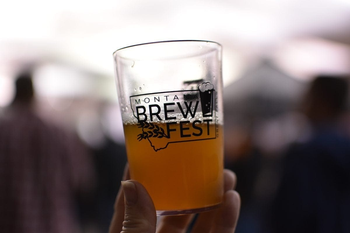Montana Brew Fest, held the 2nd Saturday in June annually in Great Falls, MT.