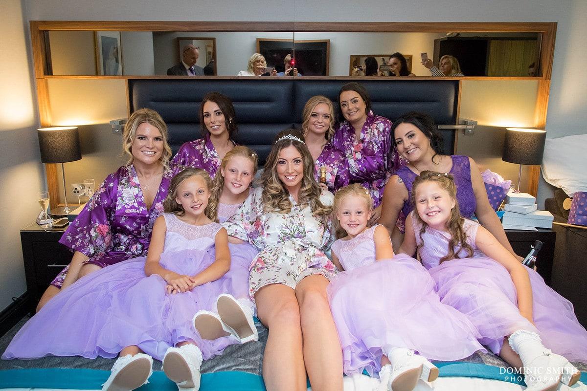 Bridal Party at The Felbridge