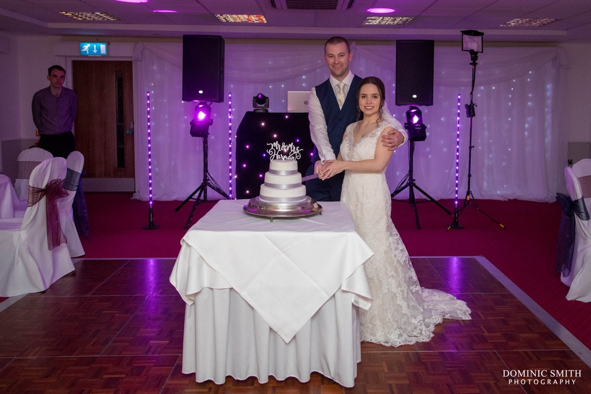 Cake Cutting at The Hickstead Hotel