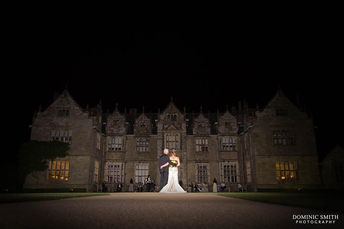 Wakehurst Place Wedding Night Photo