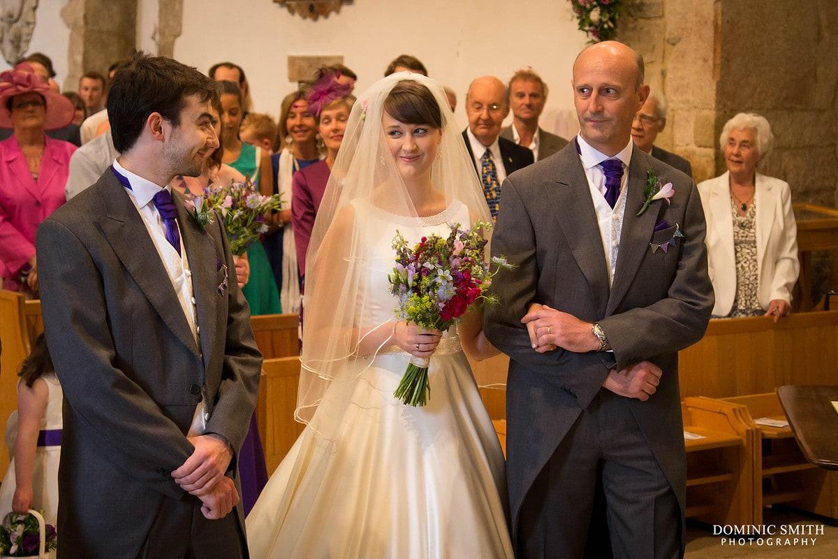 Wedding Ceremony at Worth Church
