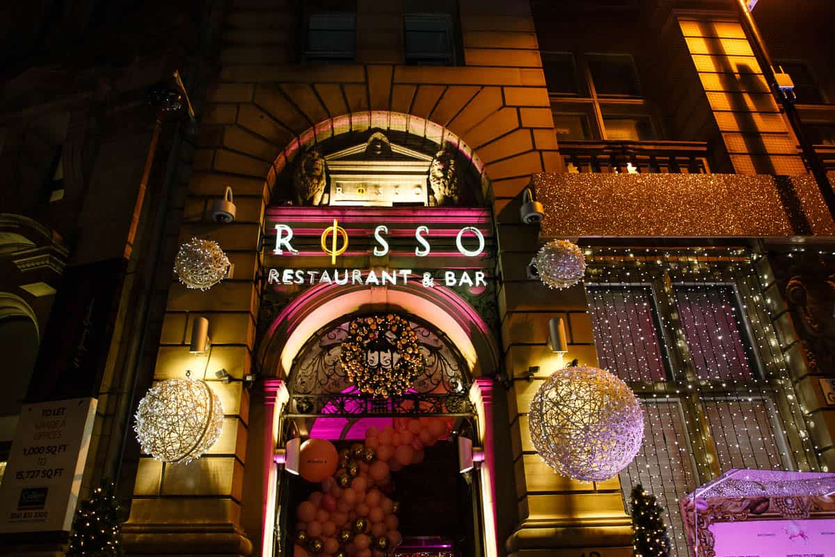 Rosso Restaurant Manchester