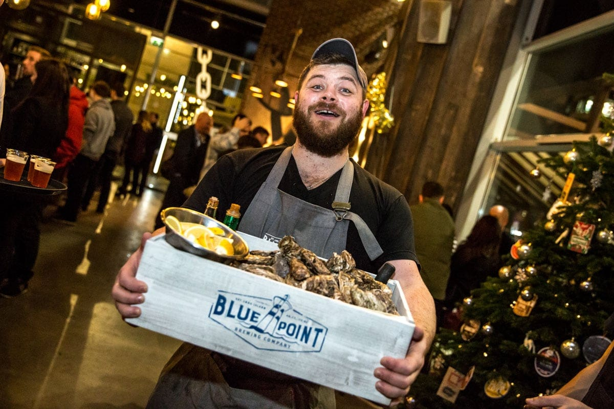 blue point beer campaign in manchester by er photography