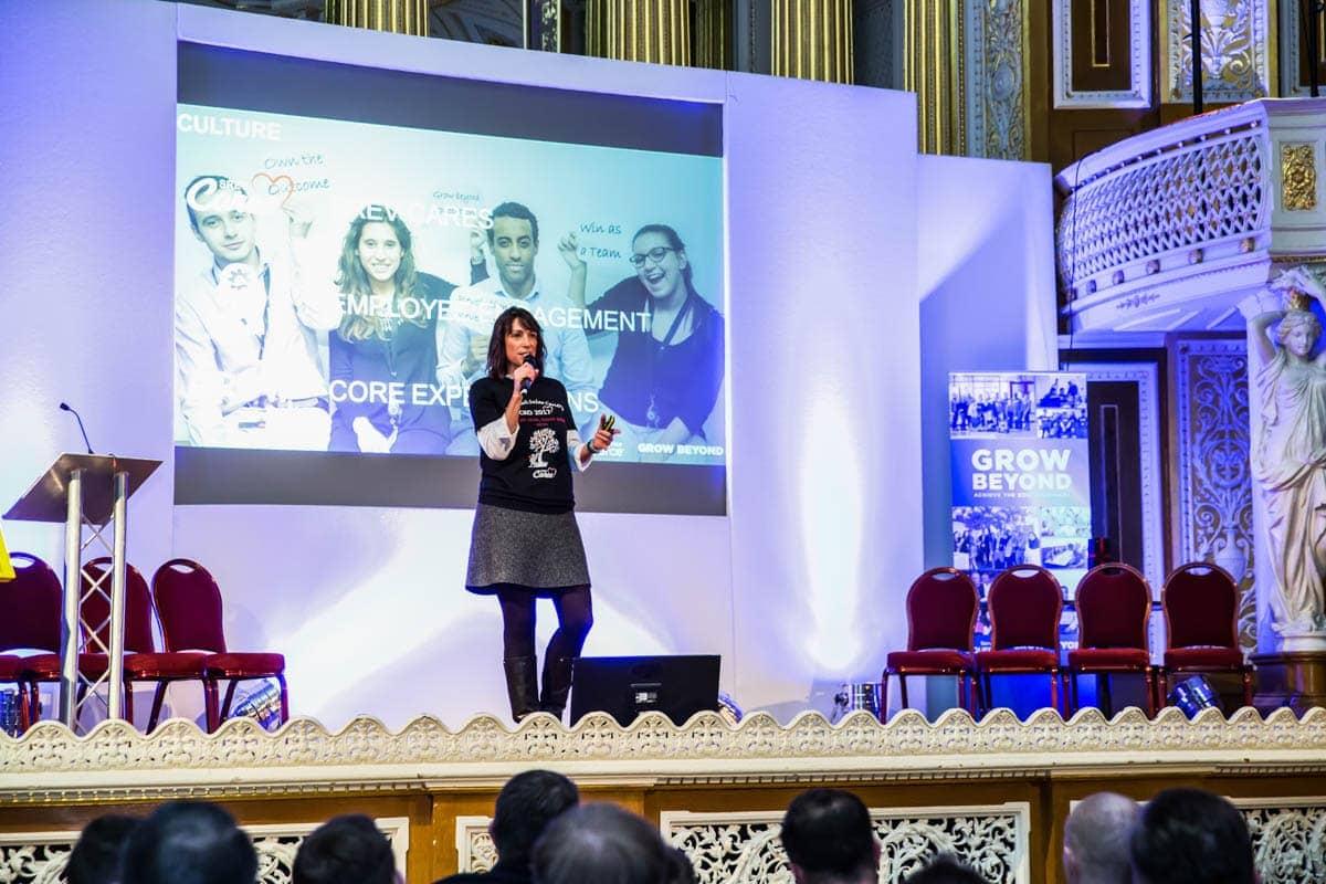 conference centre liverpool stage speaker