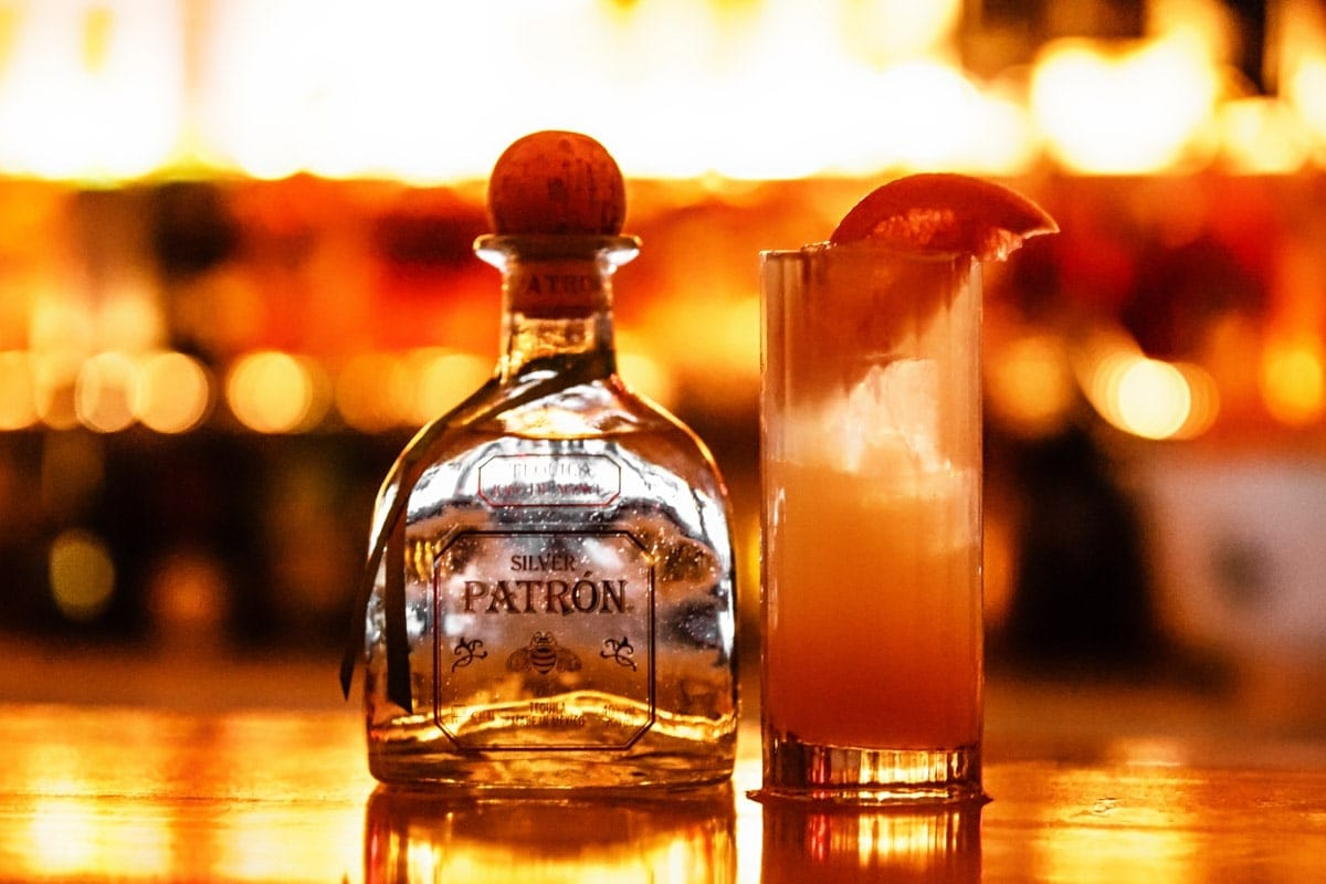 pr campaign manchester photo of patron tequila