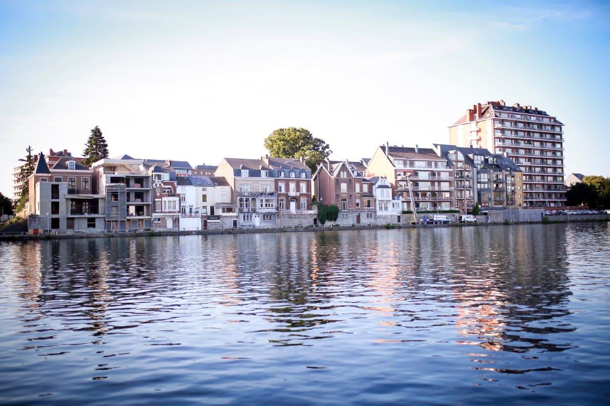 La Meuse River, Namur, Belgium