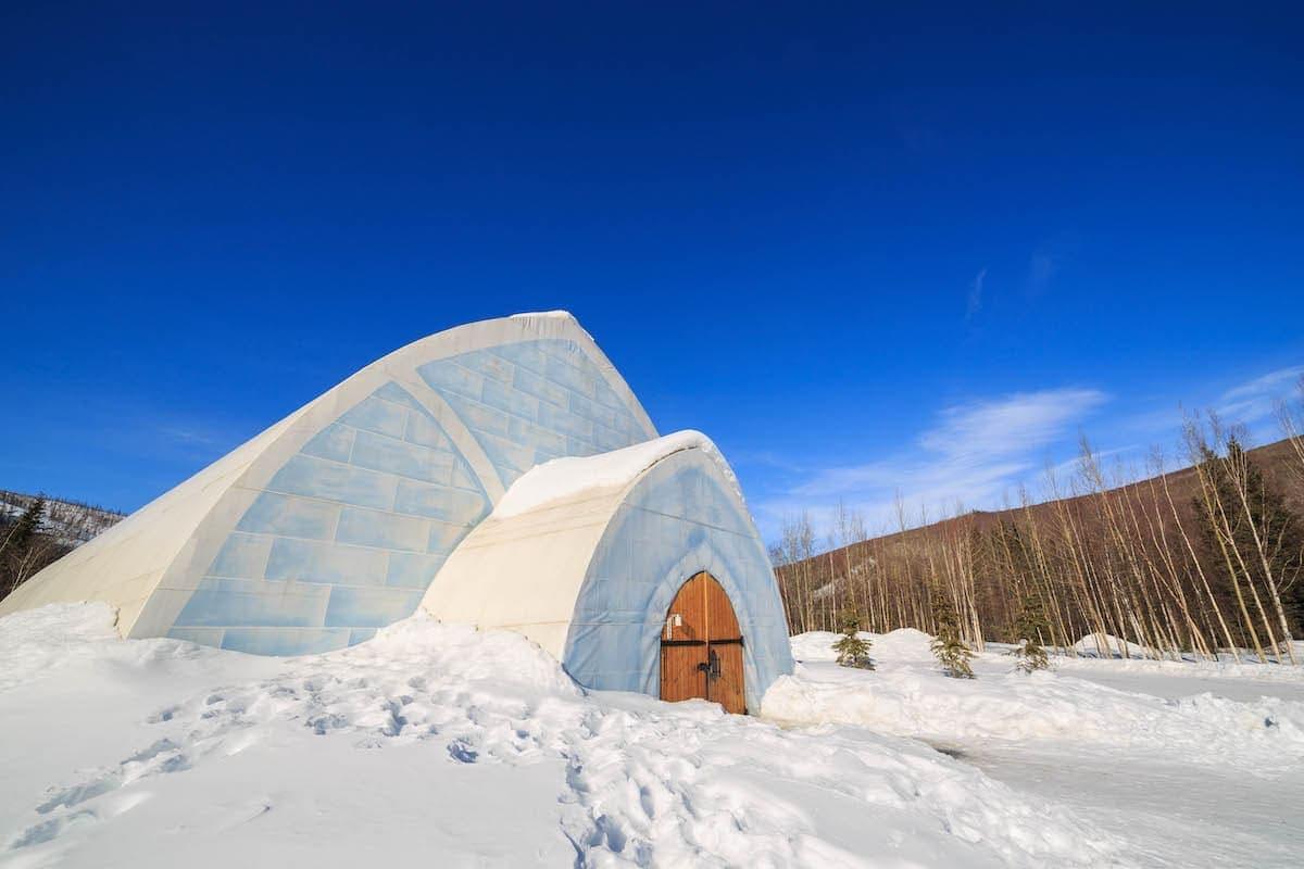 The famous Chena Hot Springs Resort at Fairbanks, Alaska.