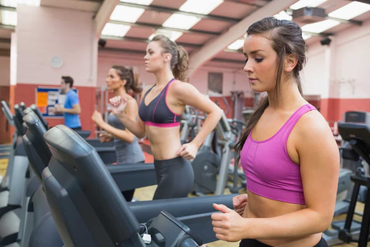 Treadmill girls