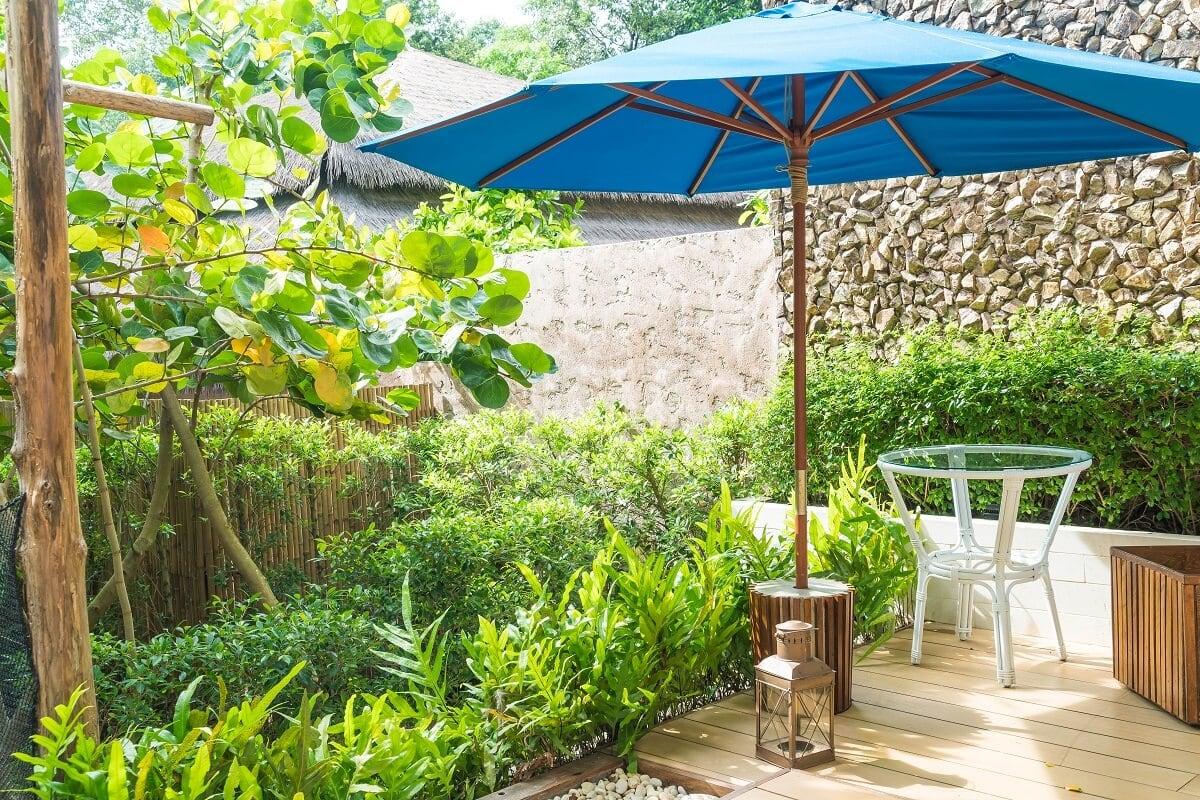 parasol ogrodowy wodoszczelny
