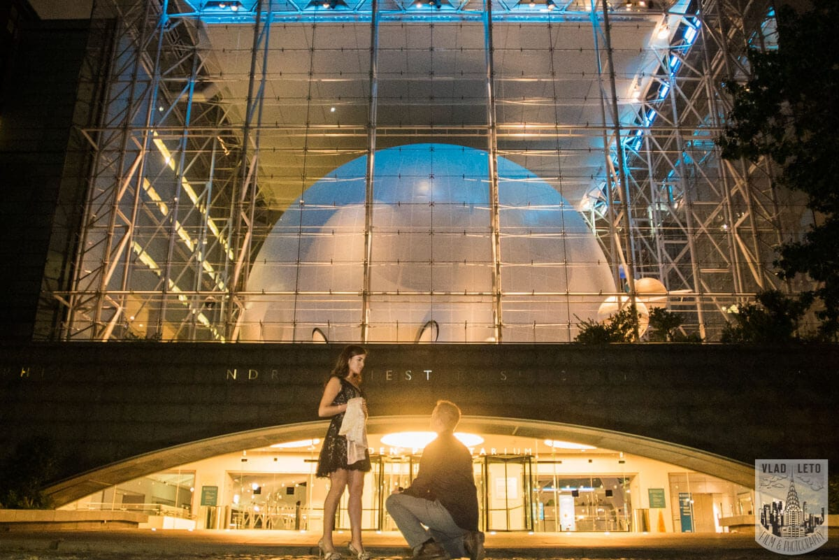 Photo Marriage proposal by Planetarium NYC   VladLeto