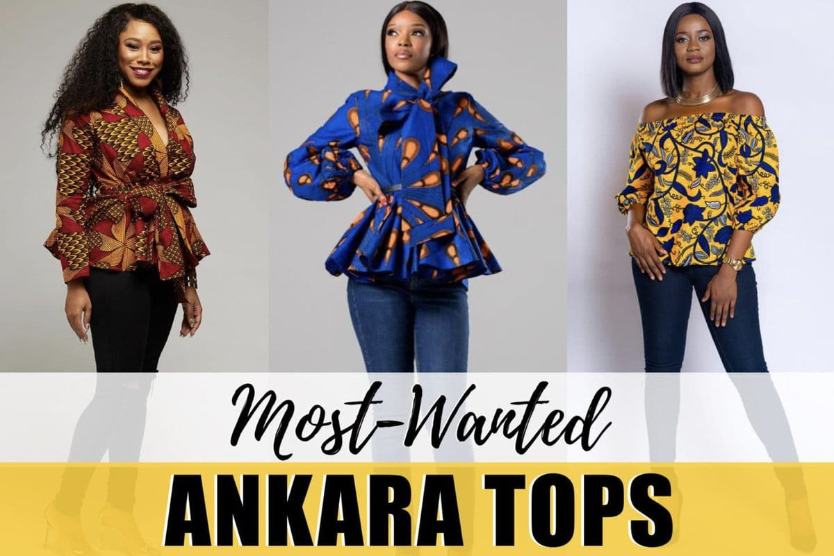 African print ankara tops can be styled in many different ways. Wax prints like ankara, kente, kitenge & dashiki are just a few of the well known prints African prints. See 20 unique ankara tops we can't get enough of this year.