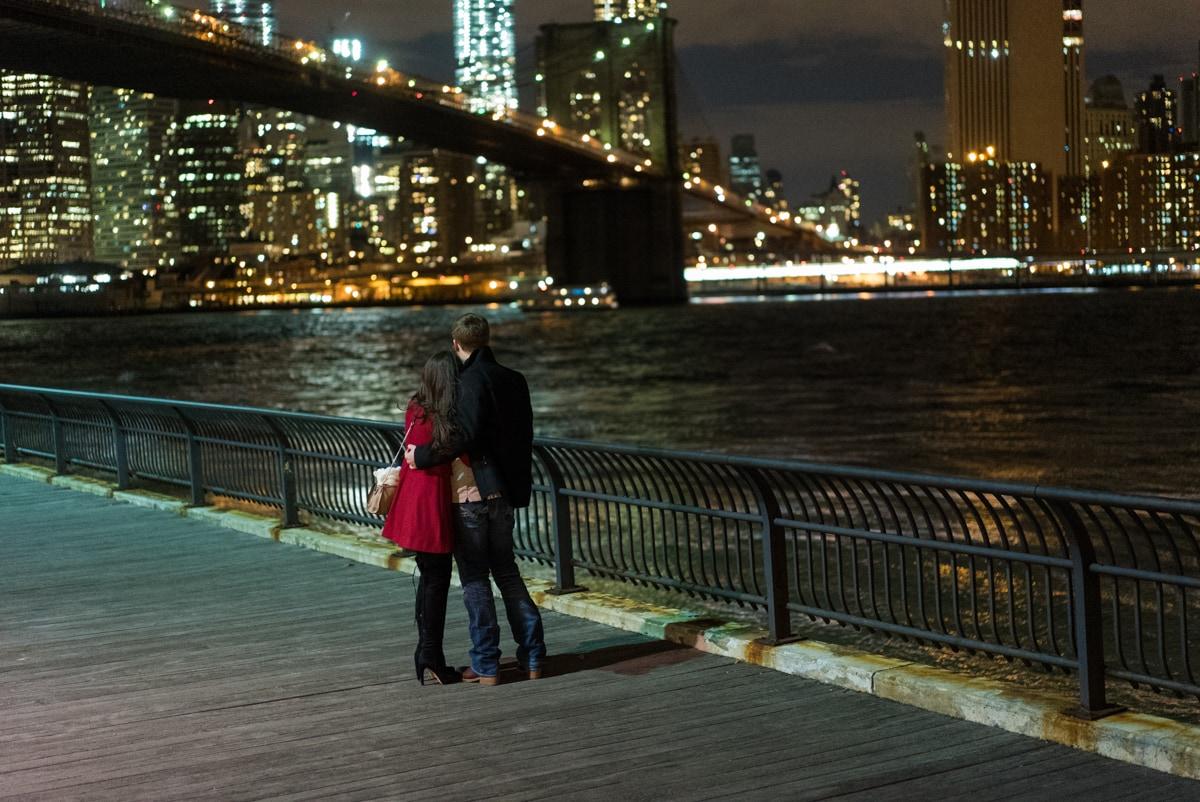 Photo Brooklyn Bridge park marriage proposal. | VladLeto