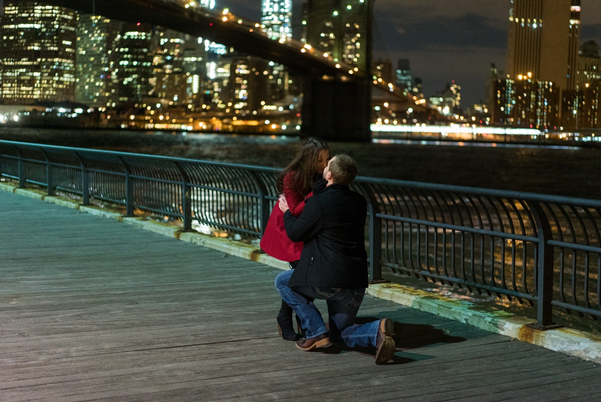 Photo 5 Brooklyn Bridge park marriage proposal. | VladLeto