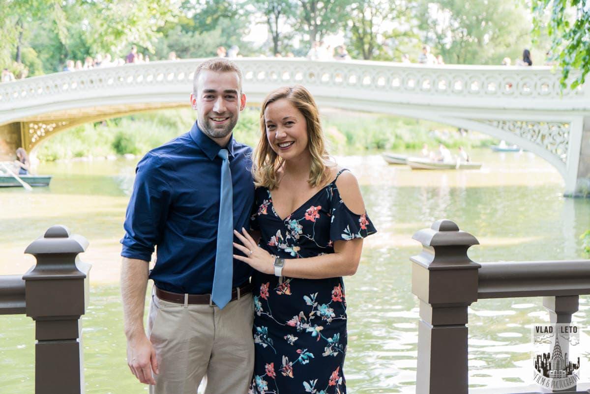 Photo 7 Ben and Kristen Surprise proposal by Bow bridge | VladLeto