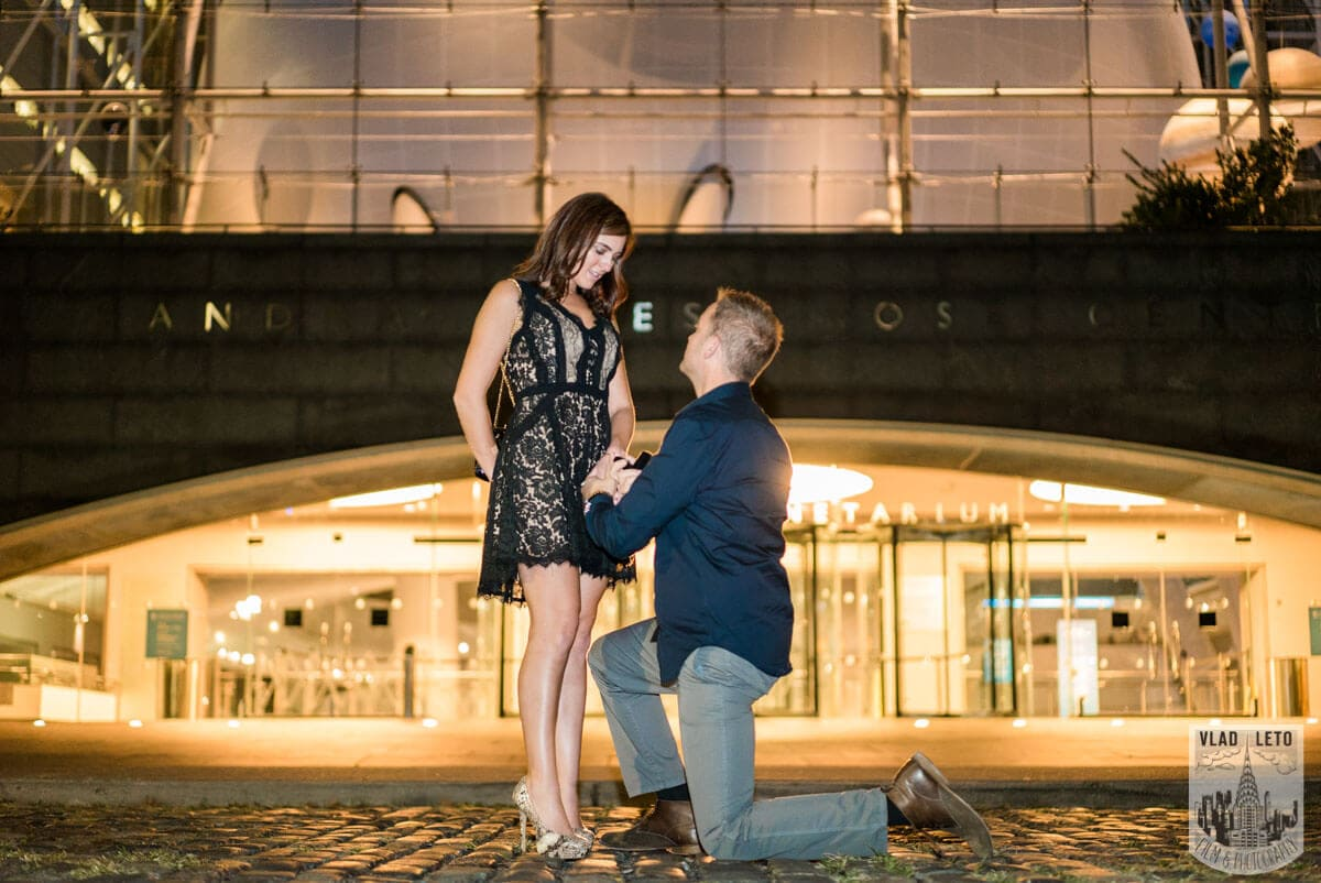 Photo 7 Marriage proposal by Planetarium NYC | VladLeto