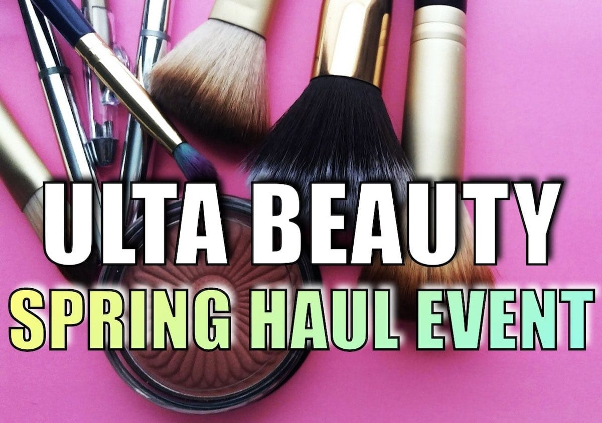 Ulta's Spring Haul Event 2020 is happening right now with up to 50% off favorite brands like L'Oréal, Morphe, Soap & Glory, Terra Beauty and more. These are the best items worth getting right now.