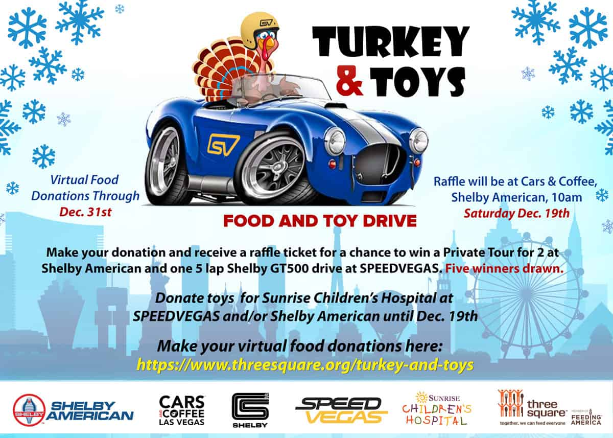 Turkey & Toys Food and Toy Drive, Sat Dec 19, 2020